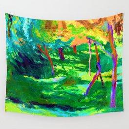 Jozef Mehoffer Strange Garden Wall Tapestry