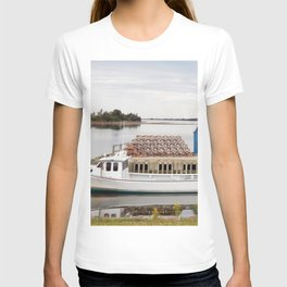 Lobster Boat and Traps T-shirt