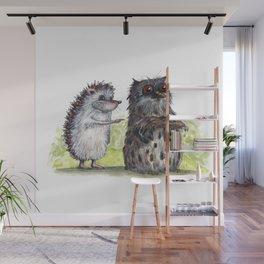 Hedgehog's here Wall Mural