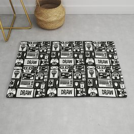 It's a Game Dev World Rug