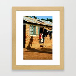 Kenya / Kitui Kids 3 Framed Art Print