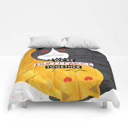 Purrrrfect Together Comforters
