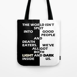 Good People and Death Eaters Tote Bag