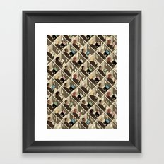 Cubicles Framed Art Print
