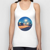 houston Tank Tops featuring Houston by GF Fine Art Photography