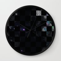 chess Wall Clocks featuring chess by Gabriele Omar Lakhal