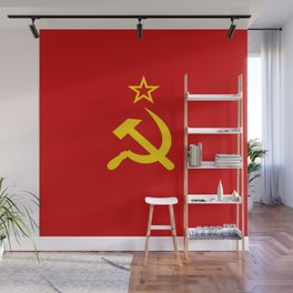 Flag of USSR Wall Mural