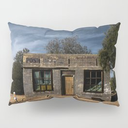 Abandoned Post Office in Kelso California Pillow Sham
