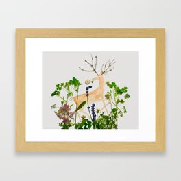 Deer Me! Framed Art Print