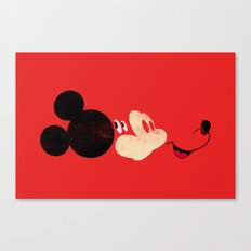 Deconstructing Mickey Canvas Print