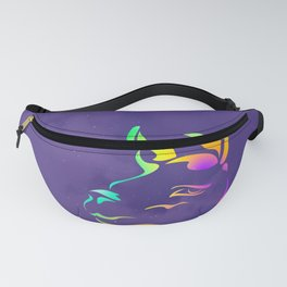 Llamita violeta by #Bizzartino Fanny Pack