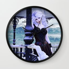 Snow White Queen Wall Clock