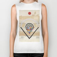 prism Biker Tanks featuring Prism by Laurie McCall