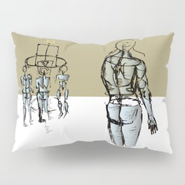 Glass people Pillow Sham