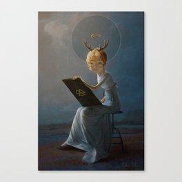Blameless Vestal Canvas Print