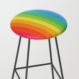 Solid Rainbow Bar Stool