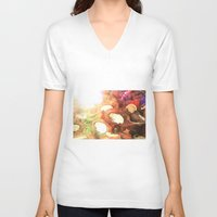 coconut wishes V-neck T-shirts featuring COCONUT by Laura James Cook