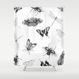 Entomologist Dreams Shower Curtain