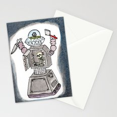 CLANK! CLANK! YOU'RE DEAD! Stationery Cards