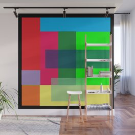 Color Combination by Adam Asar Wall Mural