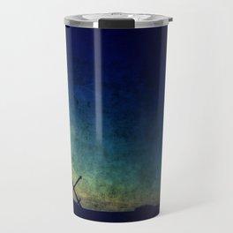 sunset lighthouse Travel Mug