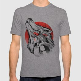 The girl and the wolf T-shirt