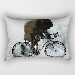 BUFF RIDER Rectangular Pillow