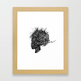 Cock Of The Roost Framed Art Print