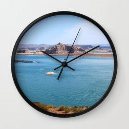 Lake Powell Impression Wall Clock