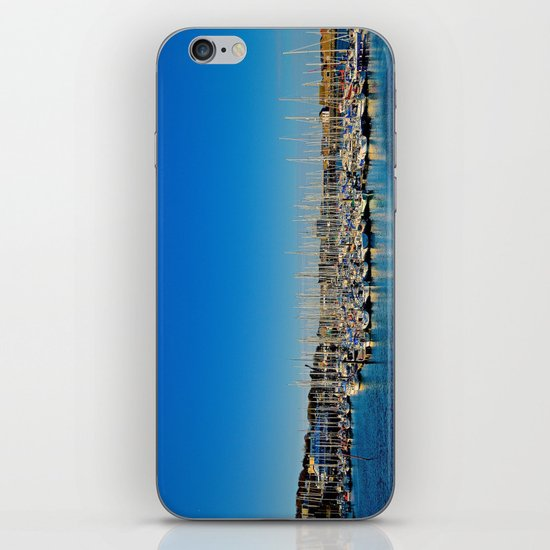 The Boats of Howth Harbor iPhone & iPod Skin