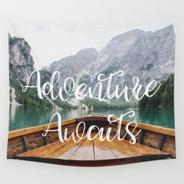 Live the Adventure - Adventure Awaits Wall Tapestry