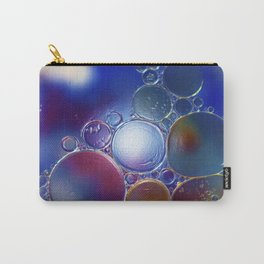 Bubbles Painted Glow Carry-All Pouch