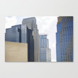 Parking Ramp View Canvas Print