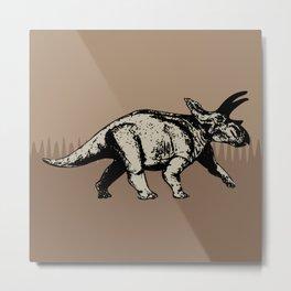 ChocoPaleo: Anchiceratops Metal Print