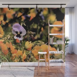 Spring Violets Wall Mural