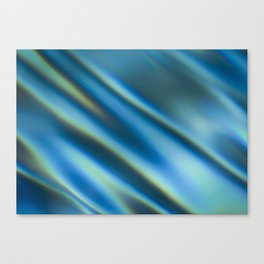 Blue Water Ripples Canvas Print