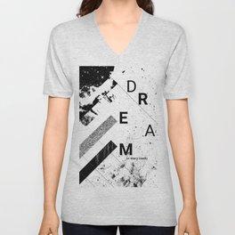 DREAM on many levels Unisex V-Neck