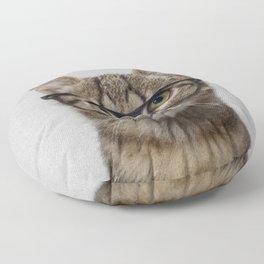 Hipster Cat Floor Pillow