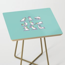 Unicorn Yoga Side Table