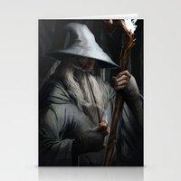 gandalf Stationery Cards featuring Gandalf by MATT DEMINO