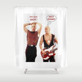 Right Said Fred Sings Uptown Funk Shower Curtain