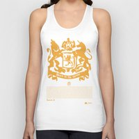 narnia Tank Tops featuring The King by John Choi King
