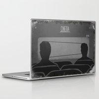 cassette Laptop & iPad Skins featuring cassette  by gazonula