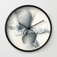 data Wall Clocks featuring Data Pencil by FORTUNE