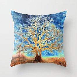 The Glow of Life Throw Pillow