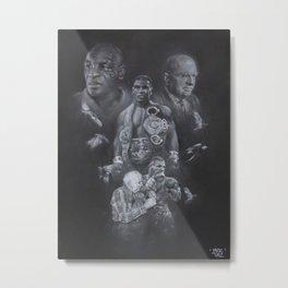 IRON MIKE Metal Print