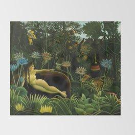 Henri Rousseau - The Dream Throw Blanket