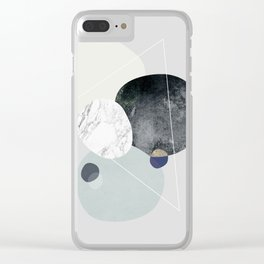 Graphic 89 Clear iPhone Case