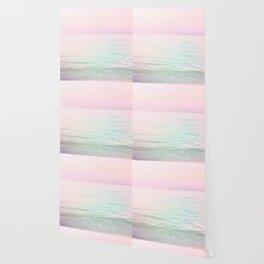 Dreamy Pastel Seascape #buyart #pastelvibes #Society6 Wallpaper
