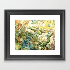 indau Framed Art Print